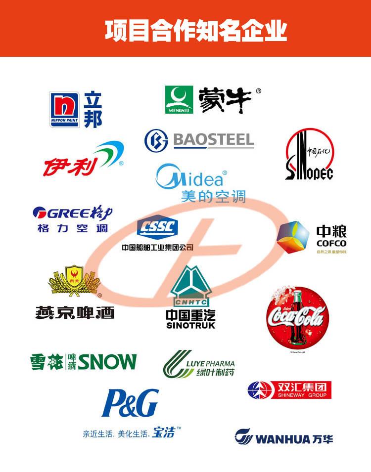 項目合作知名企業