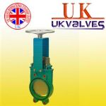 供应进口刀闸阀 英国UK气动刀型闸阀 英国UK进口刀型闸阀