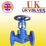 供应进口波纹管截止阀 英国UK波纹管截止阀
