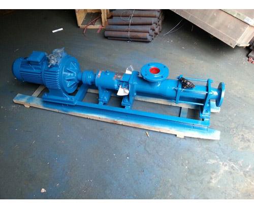供应卧式单螺杆泵