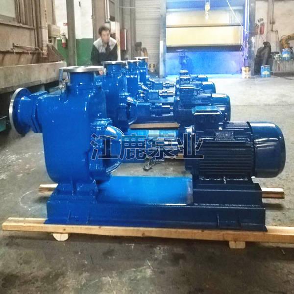 供应厂家直销80ZW65-25自吸无堵塞排污泵【正品保证】