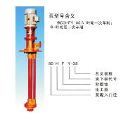 供应玻璃钢液下泵-图