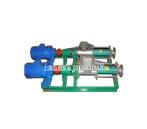 供应料斗式单螺杆泵