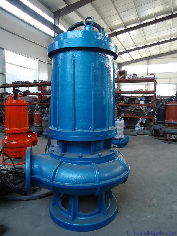 供应生活污水处理用潜水排污泵_大口径污水泵_节能不堵塞