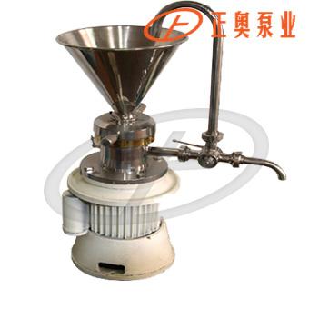 正奥泵业JML140型连接式胶体磨不锈钢乳状液胶磨机