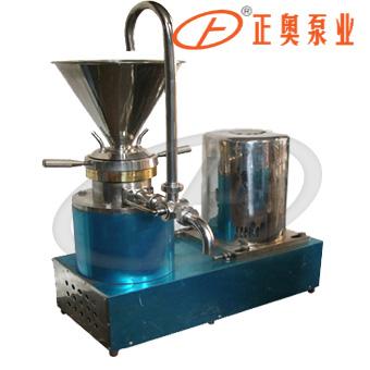 正奥泵业JML-100F型分体式胶体磨不锈钢研磨粉碎机