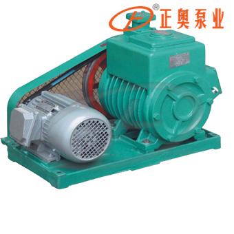 正奥泵业2X-70A水冷型皮带式双级旋片式真空泵真空树脂