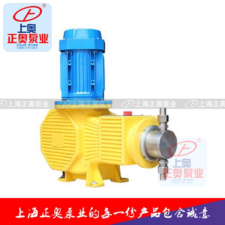 正奥泵业DZ-ZR型柱塞式计量泵