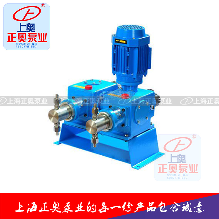 正奥泵业DZ-X2型柱塞式计量泵