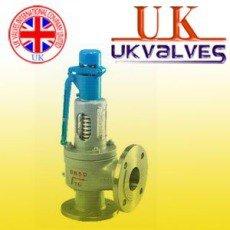 供应进口安全阀 进口弹簧全启式安全阀 英国UK安全阀