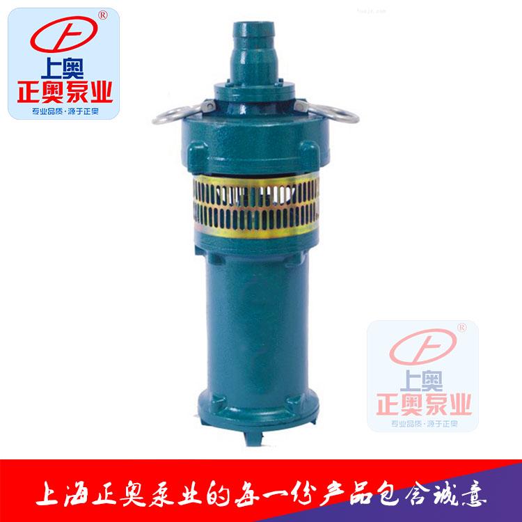供应上海正奥QS型充水湿式潜水电泵