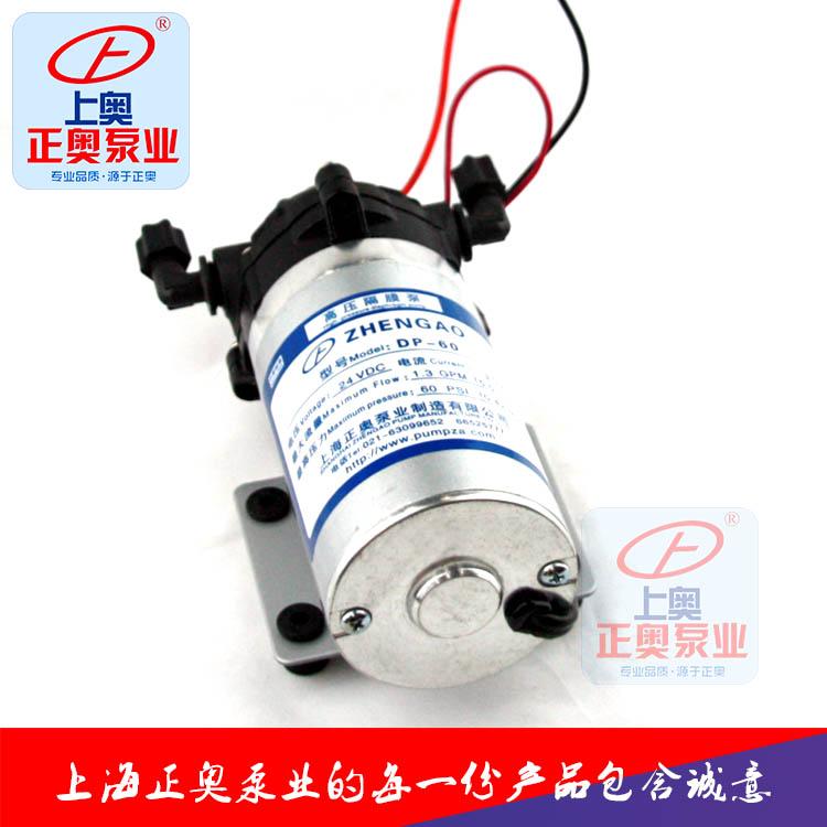 正奥泵业DP-100微型工程塑料24V高压电动隔膜泵