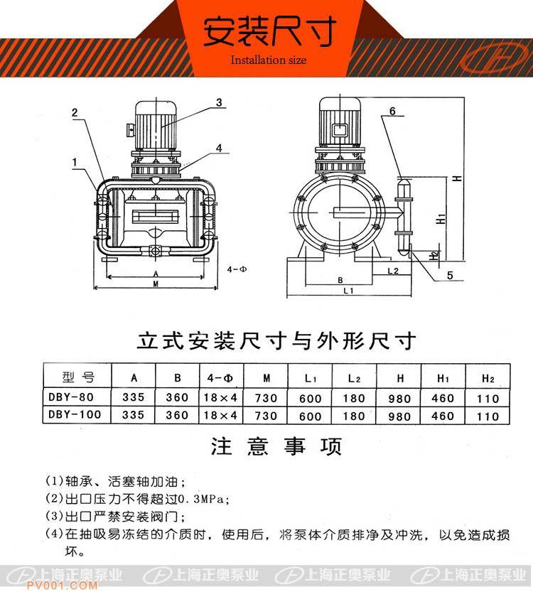 DBY正奥电动隔膜泵