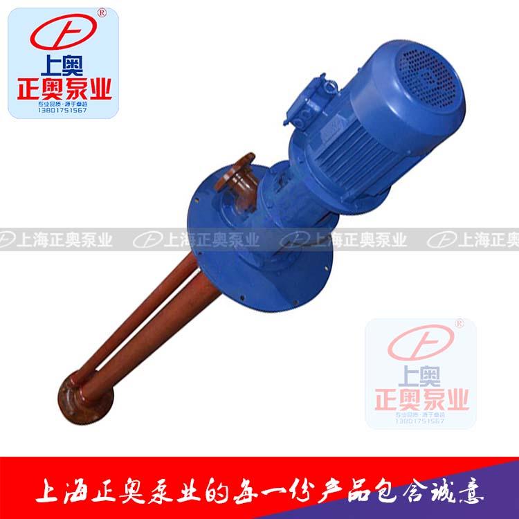 供应正奥泵业40WSY-25型耐腐玻璃钢立式液下泵-图