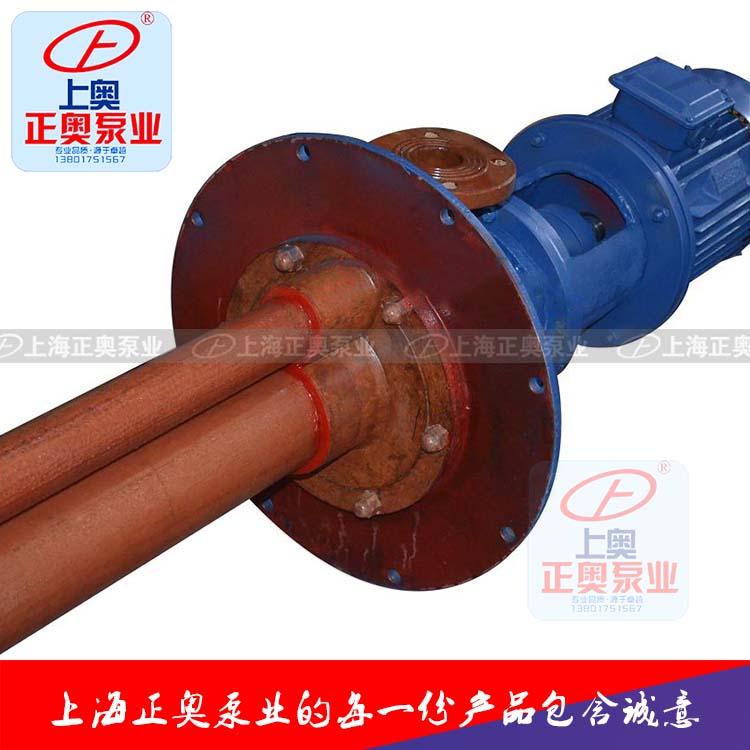 供应正奥泵业40WSY-25型耐腐玻璃钢立式液下泵-大图2
